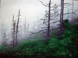 Woods and Fog by maddartist83