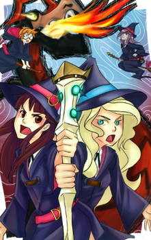 Little Witch Academia by frozentofu