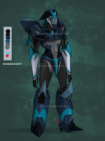 TFp oc: iridescent (new ref) by ForgottenHope547