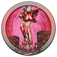 Maukita Warcraft Charater Badge by BesoYT