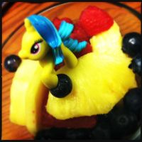 Pony on my Fruit Salad by ZandyPop