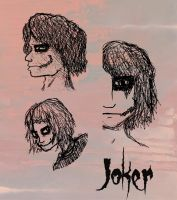 Halloween Joker Sketches by JokerAgentChaos