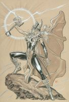 Female Thor by MichaelDooney