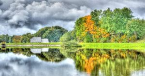 Vibrant Coulours Of Autumn by Baltagalvis