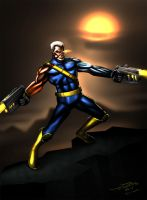 Cable (X-Men) by jameslink