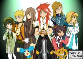 Tales of The Abyss by J-RuIVI