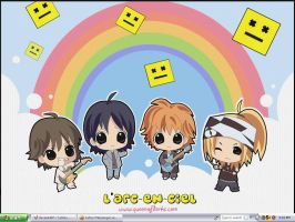 L'arc en ciel Wallpaper by Yudoku