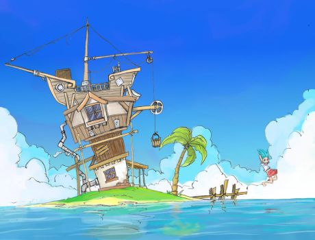 My Home By the Sea by Jump-Button