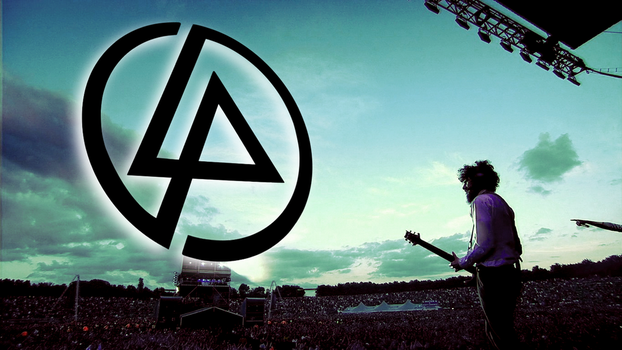 Linkin Park - Live and logo wallpaper by Awiray