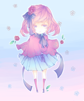Lilac-rose adopt by cadillacs