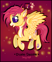 Dizzle Dazzle - OC (Updated) by Dezy-X29