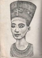 Nefertiti by Franca