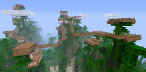 epic tree house 2 by cynderplayer