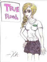 Sookie Stackhouse- Anime style colored by Vampiress-Stocking