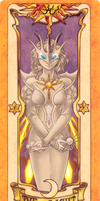 Pokimono Clow Card: Noria the Light by Renu-K