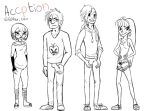Acception cartoon fallow me on Tumblr for more by Chibi-C