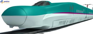 High Speed Train Shinkansen by Gandoza