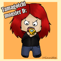 Tamagotchi themed ID by Minnake