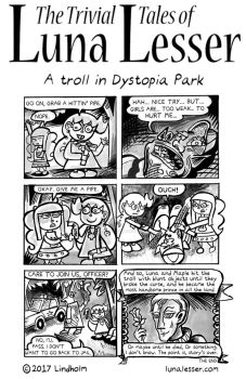 A Troll in Dystopia Park (8/8) by trivialtales