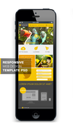 THEYALOW - A Responsive Web Design Template PSD by cssauthor
