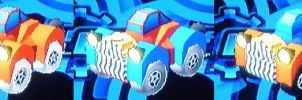Gummi Ship Donald Duck 313 Car All Variants by rizegreymon33