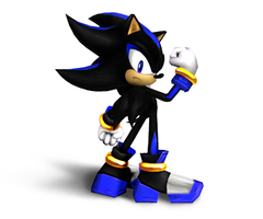 Dark Star the Hedgehog by SergeTheEchidna