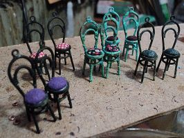 Chairs by kol-basa