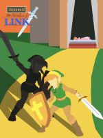 Adventure Of Link Poster by DoodledorkArt