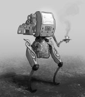 Robo waiter v2 by Karollos