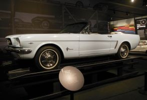 Ronald Reagan's Mustang by rlkitterman