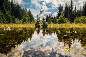 Stones reflected by 5isalive