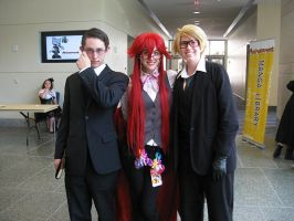 William, Grell and Ronald by matrixdigivolution