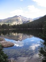 Rocky Mountains: Reflection-5 by AngelofLostHopes