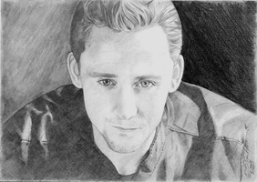 Tom Hiddleston by Ahlii