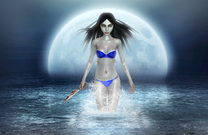 Moonlight swim by tombraider4ever