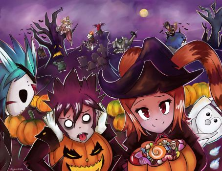 Happy Halloween's month 2013! by Tangmo2356