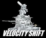 College project: Velocity Shift (Title page) by GoneIn10Seconds