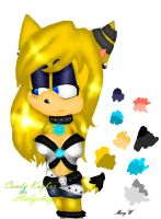 Candy Kaybur the Hedgehog by ItsAComplicatedStory