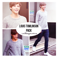 Photopack005 - Louis by iwillbeyourvoice