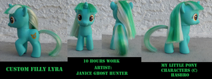 Custom Filly Lyra by janiceghosthunter