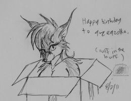 2012: Happy birthday to Gzegzlka by Snowfyre