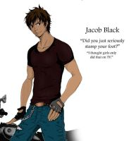 Jacob Black by MustardPocky
