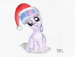 Festive Filly Twi by KuroiTsubasaTenshi