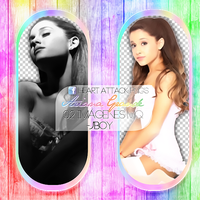 +PNG// Ariana Grande~Yours Truly by PacksHQ