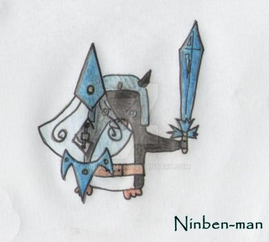 Pin - The Penguin Warrior by Ninben-man