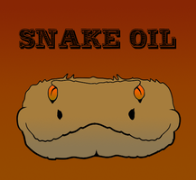 Snake Oil Logo by FireheartTheInferno