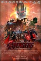 Avengers: Age of Ultron Poster by TouchboyJ-Hero
