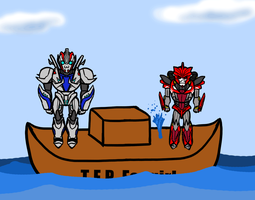Sinking Ship part 2 by Laserbot