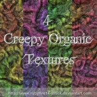 Creepy Organic Textures by Rubyfire14-Stock
