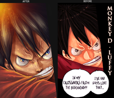 Before After - one piece by ksop